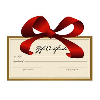 Holiday Gift Certificates from Cascade