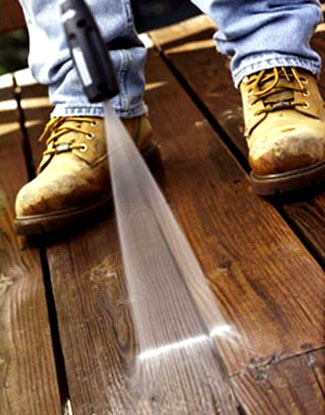 Cascade Services Deck Pressure Washing in Northern Virginia